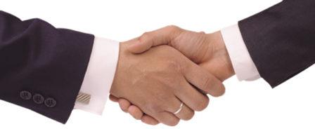 shake hand ppt